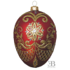 PYSANKY EGG RED
