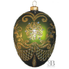 PYSANKY EGG OLIVE